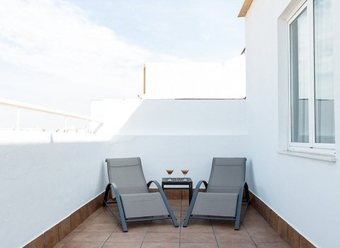 Enjoy the amazing weather in Huelva at the terrace of ...